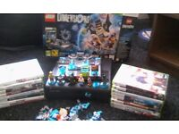 xbox 360 lego dimensions 15games swaps ps3 good phone etc ????.