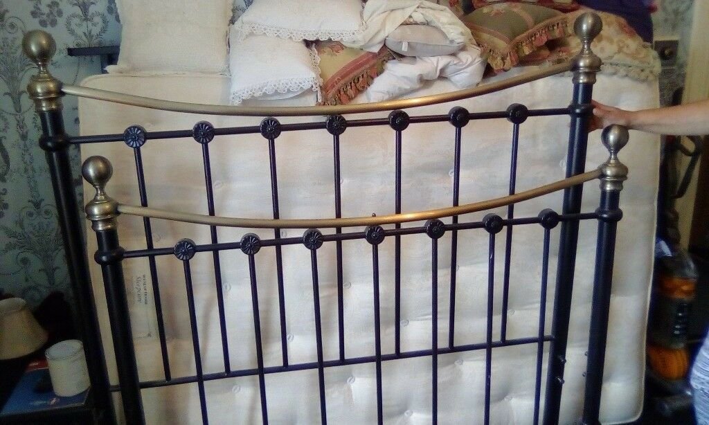 Victorian Style Metal Bed In Barry Vale Of Glamorgan Gumtree