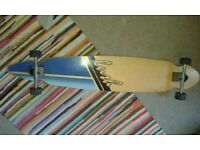 Lush Longboard Skateboard. 1.22m length. great for downhills, carving and cruising, very turny