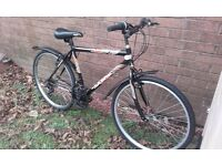 Mens sabre bike...road tyres..light frame good condition