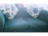 2x 2 seater sofas (Immaculate condition) 2for the price of 1 !