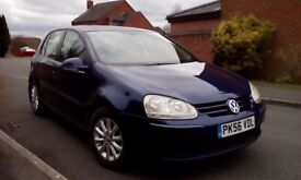 Volkswagen Golf 1.9 PD Tdi, Match, full service history, MOT August, full leather heated seats, VGC