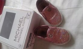 Michael kors baby girl shoe size 18 =3
