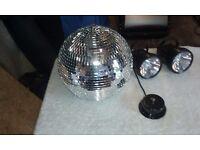 disco mirror ball package