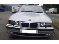 BMW 318i 1998 Saloon Petrol Automatic 1.8L 78500 miles £900