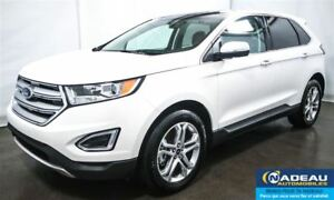 2017 Ford Edge Titanium  AWD  NAVIGATION  TOIT PANORAMIQUE