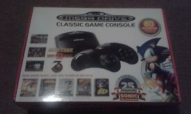 Sega Megadrive Console With 80 Games Built In. Sonic The Hedgehog, Mortal Kombat. Nintendo SNES