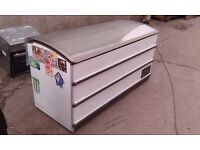 REFURBISHED !!! KOMMERCIAL FREEZER DISPLAY MODEL 170 CM