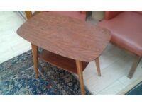 Vintage retro small bar table