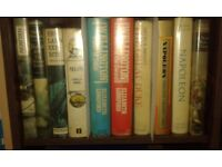 BOOKS- NAPOLEON, NELSON, WELLINGTON