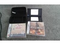 Nintendo DSi Black ... Hardly Used with Original Packaging & 2 Games £30