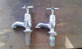Antique bath taps