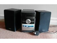 Philips MC151 Micro System (stereo), AUX in (for smartphones, laptops etc), CD player