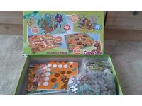 Scooby doo board games and jigsaw puzzles