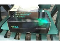 2 x wireless routers, brand new, still packaged