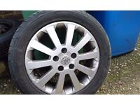 4 x Alloy Wheels & Tyres for sale