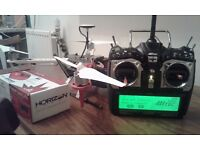 450 flame wheel drone and aurora transmitters combo