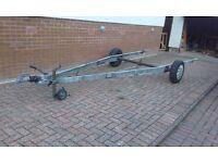 ALKO caravan chassis