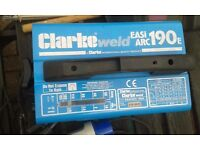 clarke weld easiarc 190e plus auto light weld mask