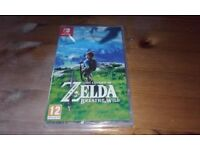 Zelda Breath of The Wild for Nintendo Switch