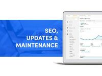 Website Maintenance & SEO Services | UK Experts | Wordpress | Shopify