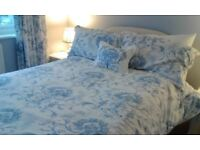 Myers Double Divan Bed with two drawers (wood) Includes mattress & headboard.