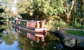 Beautiful Livaboard Houseboat 60ft with mooring ideal for two people fitted out for winter cruising