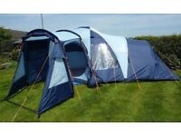 Vango Diablo 600 tent with some extra pole repair packs