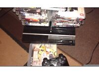 Ps3 1 controller 20 games including fifa 17