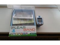 Leap Band watch in Blue and Orange one for each sibling great xmas gift.