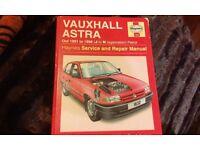 VAUXHALL ASTRA CAR MANUAL