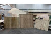 Strong treated fencing panels all sizes