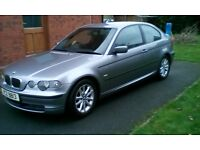 Must Go ASAP -BMW 316ti 2004 1.8l very good condition must go!