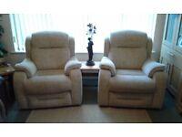 2 Parker Knoll Boston Armchairs