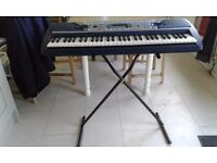 Yamaha PSR280 Electronic Keyboard & Stand for sale.