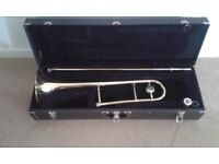 Vincent Bach Bb tenor trombone with mouthpiece and hard case