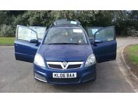 Vauxhall Zafira 2006 7 seater For Sale in good condition