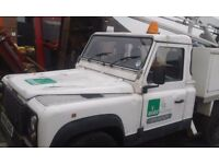 Land Rover Defender Mewp