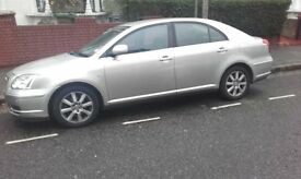TOYOTA AVENSIS CLUTCH RECENTLY CHANGED, FRONT AND REAR PARKING SENSORS, GREAT CONDITION LOW MILEAGE