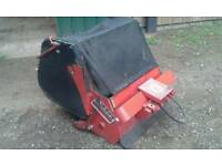 Westwood Ride on Mower Grass Collector