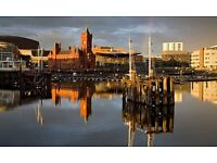 One bed apt wanted in Cardiff Bay area, Jan-July 2017