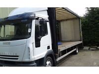 7.5 ton lorry body 20ft iveco / man / daf / mercedes