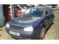 2000 Volkswagen Golf MK4 1.9 S TDI 5dr blue ALH LA5G BREAKING FOR SPARES