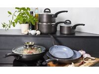 NEW!! TOWER 7 pc CERAMIC NON-STICK Cerasure Pan set (In Factory Packaging)
