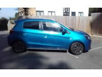 Stunning Atlantic Blue Mitsubishi Mirage - Quick sale due to travelling abroad
