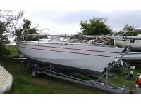 E Boat Trailer Sailer