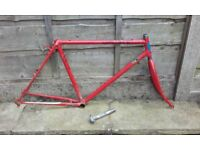 ANDY THOMPSON orbit mountain bike 20 inch reynolds 531 26 inch touring tourer expedition frame