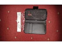 S3 mini black leather phone cover