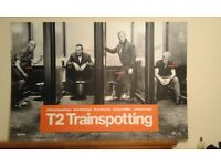 T2 Trainspotting 2 plasterboard poster given frm premiere staff