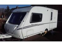 Abbey Spectrum 215. 2 Berth Caravan 2009